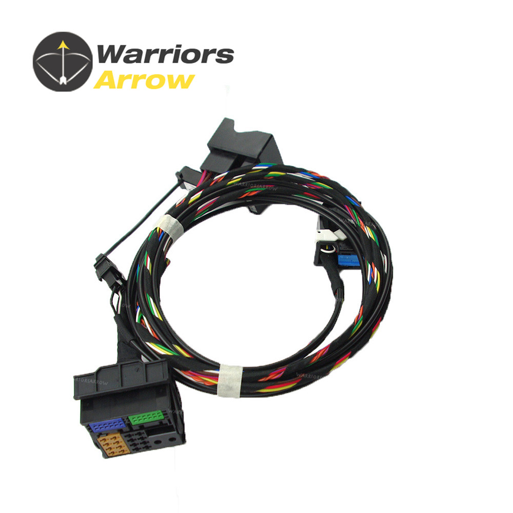 Set Bluetooth Module Wiring Harness Cable Fit For Radio VW RCD510 9W2 9W7