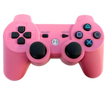 11 Color Bluetooth Wireless Double Vibration Controller Remote Joystick for Sony Playstation 3 PS3 for PS2 Game Gamepad