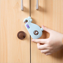 Child Safety Locks Baby Locks-Premium Quality Cabinet Cupboard Locks,Safety Latches-Strong 3M Adhesive Child Proof Locks,5 Packs(China)