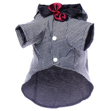 Pet Dog Clothes  Wedding Dog Suit & Bow Tie Puppy Pet Clothes For Dog Costume Apparel 1pcs Newest 2016