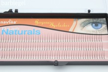 1 Tray Navina 0.15D Curl (8/10/12MM) Natural False Eyelashes Extension Makeup Tool Soft Fake Eye Lashes for Eye Beauty