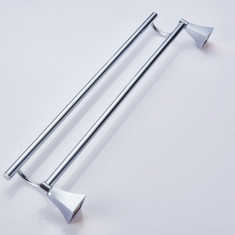 Stainless Steel 50CM Wall-Mounted Bathroom Towel Holders Towel Bars Towels Racks Hanger Double Towel Bar For bathroom Chicken<br><br>Aliexpress