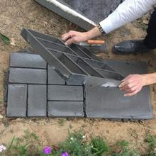 New 2016 High Quality Plastic Path Maker Mold Manually Paving Cement Brick Stone Road DIY Mold Garden Accessories 40*40*4 cm
