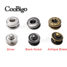 100set Pack Metal Press Studs Sewing Button Snap Fasteners Sewing Leather Craft Clothes Bags #GZ153