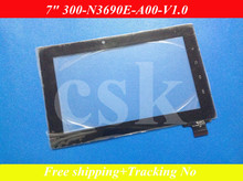 A+ (Ref:300-n3690e-A00-V1.0 /300-N3690B-A00-V1.0  ) 7inch touch screen for PD10 PD20 Tablet onnector width :18.5mm Random code