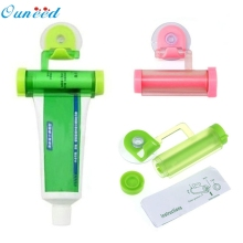 Rolling Squeezer Toothpaste Dispenser Tube Partner Sucker Hanging Holder Wonderful35%1.02(China)