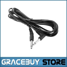 3M Patch Cord Cable Male Electric Guitar Patch Cable Cord Male 10Ft Black Plug Right Angle