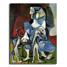 oil Painting Picasso  Hd printcanvas painting Photo print painting PrintsWallPicturesforliving Room Picture GM-031