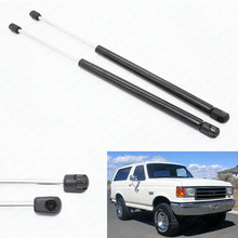 2pcs Auto Rear Window Glass Lift Supports Car Gas Shock Struts for Ford Bronco 1984 1985 1986 1987 1988 1989 1990