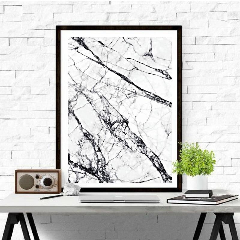 Marbel Texture Poster