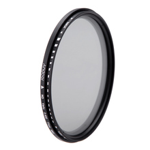 Oversea Stock Andoer 77mm ND Fader Neutral Density Adjustable ND2 to ND400 Variable Filter for Canon Nikon DSLR Camera