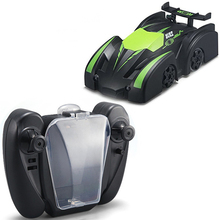 Remote Control Climbing Drifting Car Mini Gravity Stunt Car RC Wall Climbing Car Infrared Electric Toy Car Kids Electric Toy New(China)
