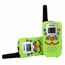 Mini Walkie Talkie Kids Retevis RT32 0.5W 8/22CH UHF 446Mhz PMR446 VOX LCD Display Portable Toy Radio Set Children Gift A9113(China)