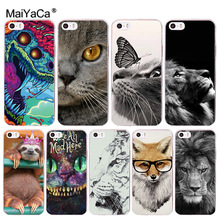 Buy MaiYaCa Sloth, cat, lion Luxury TPU Rubber Phone Case cover Apple iPhone 8 7 6 6S Plus X 5 5S SE 5C Cover for $1.45 in AliExpress store