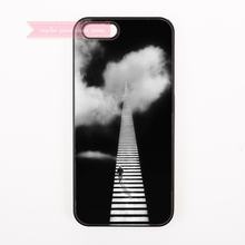 tough cover case for iphone 4 4s 5 5s 5c se 6 6S 7 Plus iPod Touch cases black and white lonely men zebra crossing sidewalk way(China)