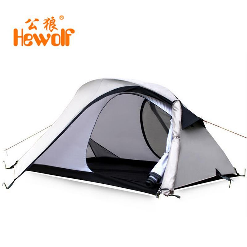Male Wolf outdoor camping tent double double rain tour more camping gear tents<br><br>Aliexpress