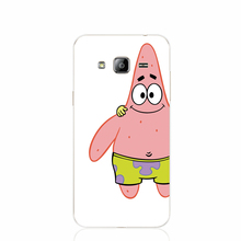 19306 Patrick SpongeBob are BEST Friends cell phone case cover for Samsung Galaxy J1 ACE J5 2015 J7 N9150