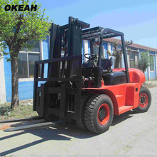7 Tons Diesel Forklift Big Power Fork Transport Equipment Higher Cost Performance Machine(China)