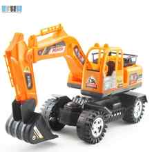 Diecast Car construction vehicle Engineering Car Excavator Dump Roller Truck Model Classic Toy gift for friends