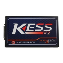10pcs/lot KESS V2 V2.23 FW V4.036 OBD2 manager Tuning Kit Master Version with No Token Limitation with Spanish/French DHI Free(China)