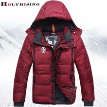 Fashion Men Down Jackets Winter Casual Thick Soft Pocket Comfortable Hooded Zipper Outwear Parka Men's Brand Clothing Warm Coats