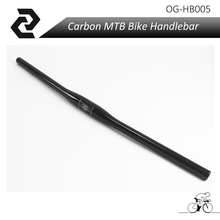 OG-EVKIN Carbon Fiber Bike Part Carbon Bandlebar For Mountain Bicycle Flat Bar 3K(China)