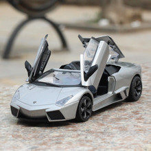 High simulation Reventon convertible supercar model,1:24 scale alloy car,Collection metal model toys,3 open door,free shipping