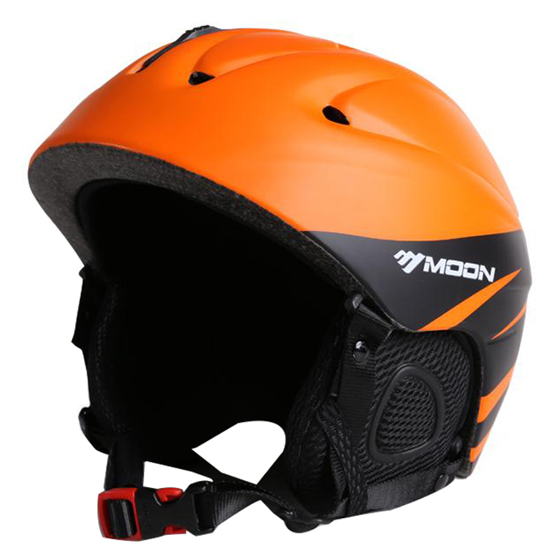 MOON Ultralight Sking Helmet In-mold Ski Helmet 14 Air Vents  Snow Ski Skateboard Snowboard Helmet 52-64CM PC+EPS 6 Colors<br>