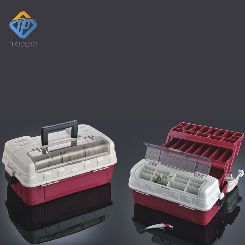 two fishing tackle box