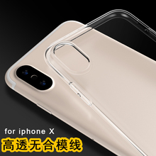 Buy Clear Silicon Ultra Thin Soft TPU iPhone 7 Case 5s SE 6 6s 6Plus 6s Plus Transparent 5 7Plus 8 8Plus X for $1.50 in AliExpress store