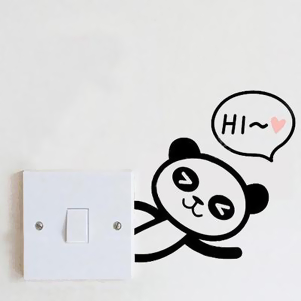 HTB1Wg5yo0fJ8KJjy0Feq6xKEXXa8 - DIY Cute Cat Panda Switch Sticker