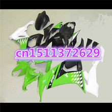 Hot sales ABS For KAWASAKI ZX 10R 08-10 NINJA ZX-10R 08 09 10 green white black ZX10R 2008 2009 2010 s set tool part(China)