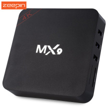 Hot MX9 TV Box Android 4.4 RK3229 Quad-core 2.4GHz WiFi TV Online Media Player Arm Mali-400 Set Top Box Smart Mini PC EU US Plug(China)