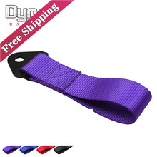 Free shipping  New Tow Strap High Quality Racing Car Tow Strap/Tow Ropes/Hook/Towing Bars