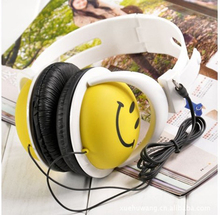 Smile Face Headphone For Computer MP3 PSP DJ Headset