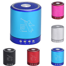 High Quality Portable Wireless Bluetooth Speaker Mini Loudspeakers Musical Audio For Phone With Mic TF USB FM#W(China)
