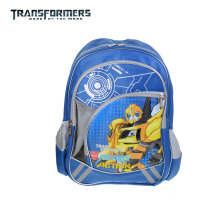Transformers children cartoon school/books/student bag shoulder backpack portfolio rucksack for boys grade/class 1-2