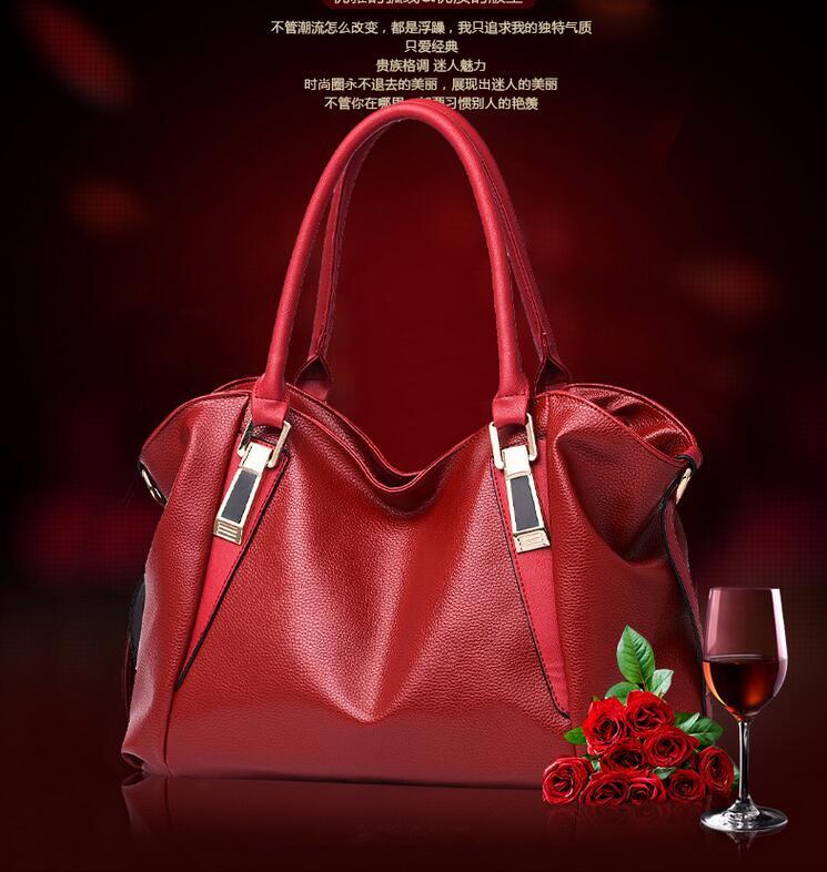 00% Genuine leather Women handbags 2017 new female fashion handbag bag tide shoulder bags of western style air bag