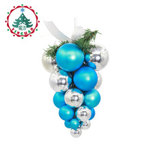 inhoo Creativity Christmas Tree Pendant Ball Grape Bunch Ornament Home Holiday Decoration Christmas Supplies Baubles Christmas(China)