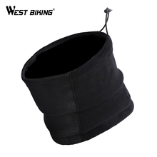 WEST BIKING Winter Cycling Mask Neck Warmer Cap Surface is Waterproof Anti-fog Riding 3 Functions Bicycle Scarf Cycling Mask(China)
