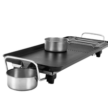 Household Electric Barbecue Grill Smokeless Bbq Indoor Grill Electric Pan Bbq Stove Non-stick Baking Pan Multifunctional #920