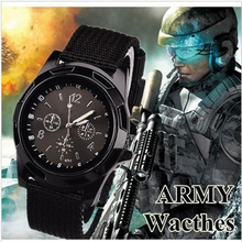 Gemius Army Watches Men Military Sports Fashion Casual Clock Nylon Watchband Quartz Creative WristWatch relogio horloges FD0967