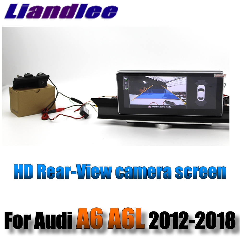 Liandlee Car Multimedia Player NAVI For Audi A6 A6L S6 RS6 C7 4G 2012~2018 Accessories 10.25 inch Radio Stereo GPS Navigation 9