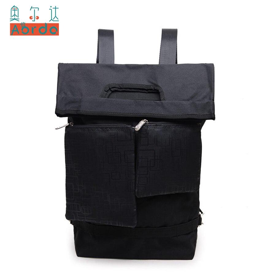 AORDA Large Capacity Backpack Women Solid Bags Preppy School Bags For Teenage Boys Travel Bags Girls 14 Laptop Backpack Mochila<br>