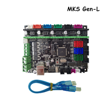 3D Printer Controller Board MKS Gen-L V1.0 Compatible Ramps1.4/Mega2560 R3/Marlin Support A4988/DRV8825/TMC2100/LV8729(China)