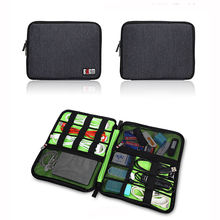 Fashion USB Storage Case put Cables Flash Drive Chargers Headsets Organizer Bag