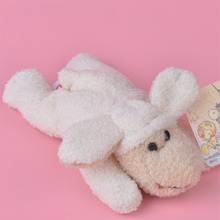 3 Pcs White Sheep Plush Fridge Magnet Toy, Kids Child Doll Gift Free Shipping