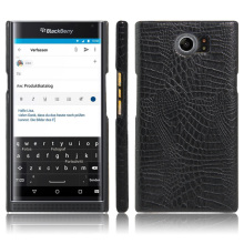 "Luxury Crocodile Skin PU Leather Case Back Cover For BlackBerry Priv 5.4"" Phone Protective Cases With 7 Different Colors"