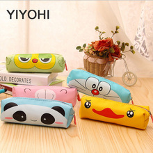 Women Girl Cartoon pen Bag Panda Zipper Purse  Cute Cosmetic Bag Mini Bag Storage Bags Make Up Organizer