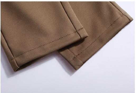 New Autumn Women Casual Loose High Waist Harem Pants Ladies Office Pants Plus Size Trousers S~4XL 5XL 6XL Blue Red Khaki Brown 14